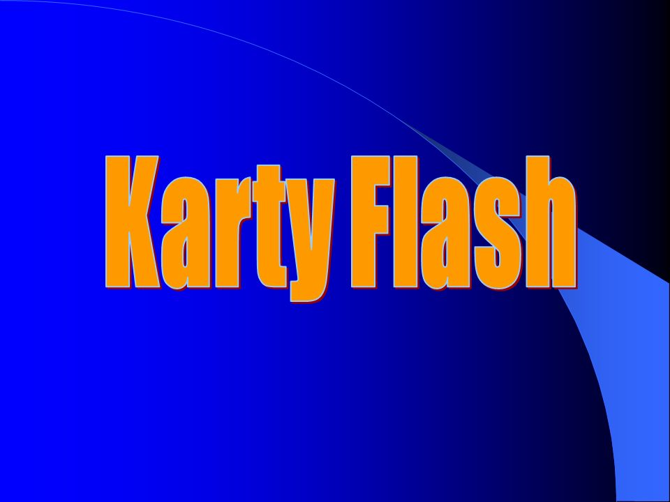 Karty Flash