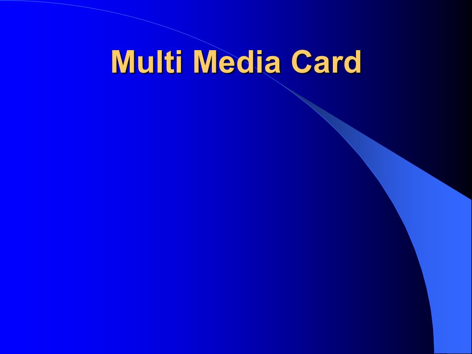 Multi Media Card