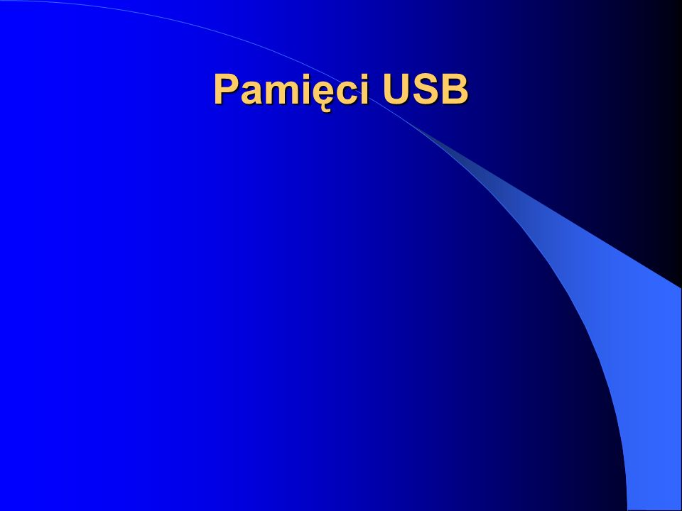 Pamięci USB