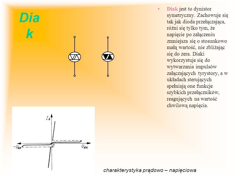Diak jest to dynistor symetryczny