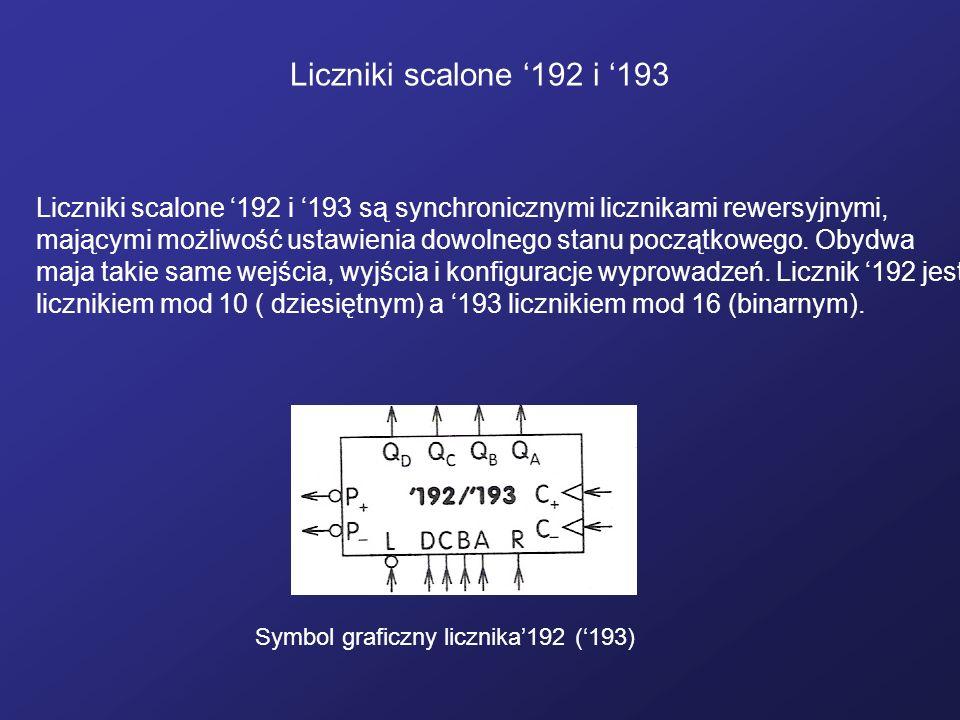 Liczniki scalone '192 i '193
