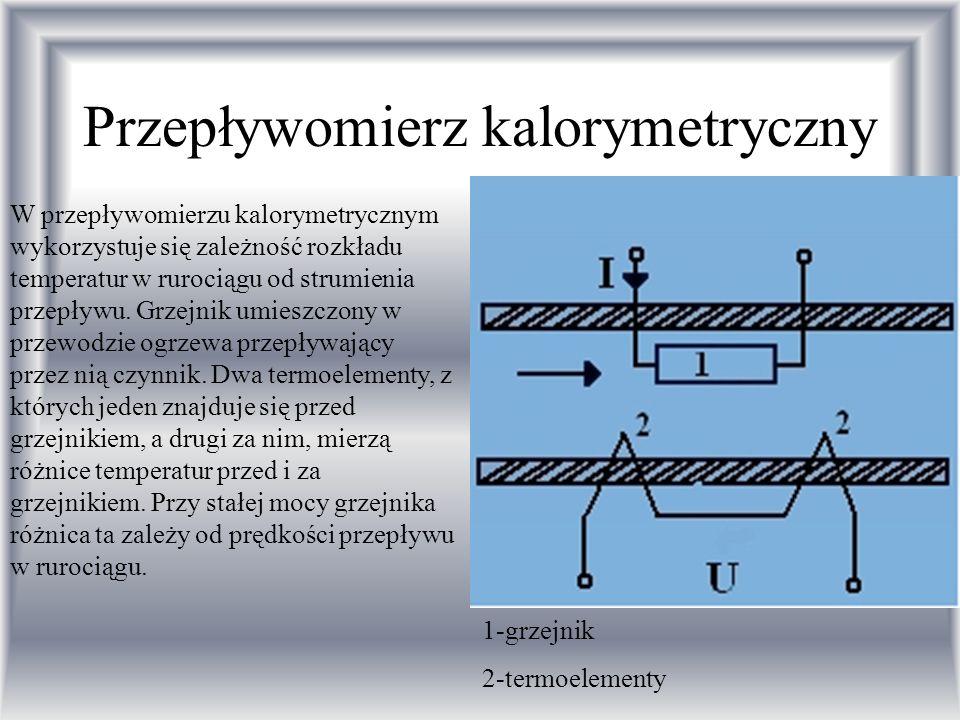 Przepływomierz kalorymetryczny