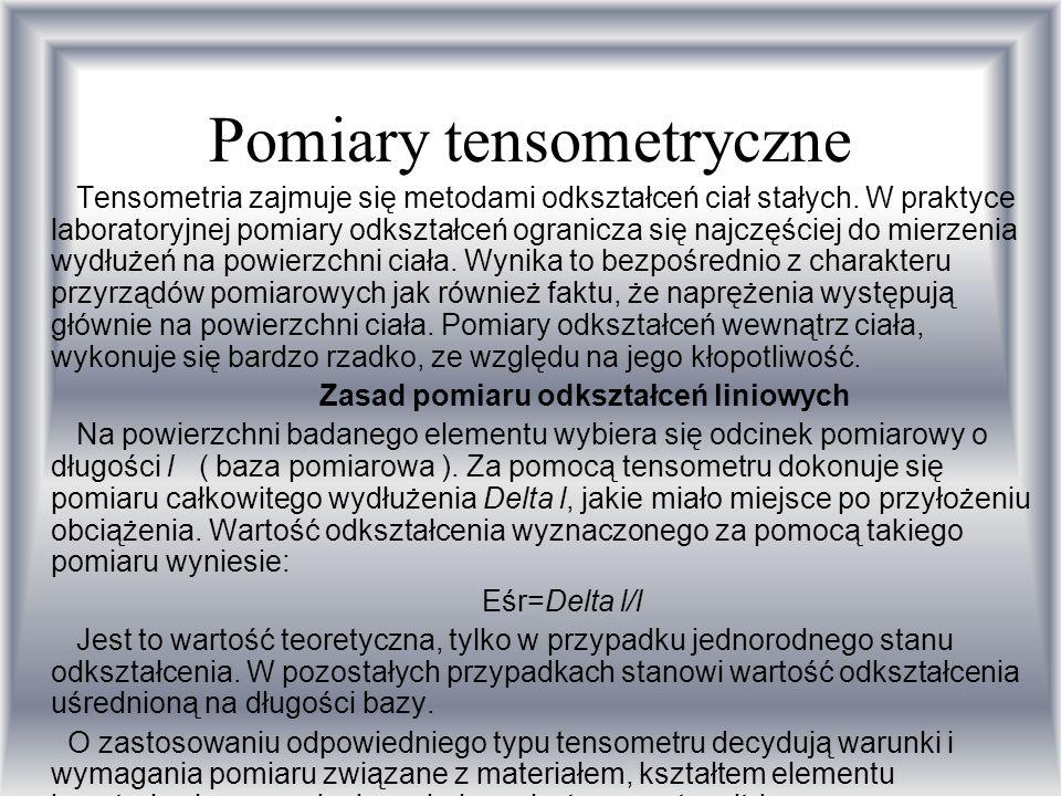 Pomiary tensometryczne