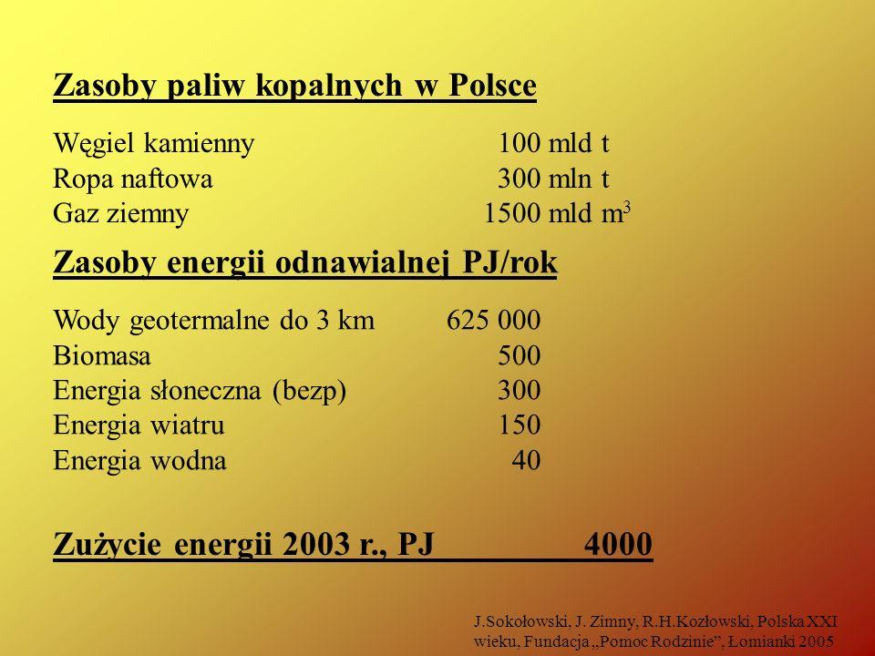 Zasoby paliw kopalnych w Polsce