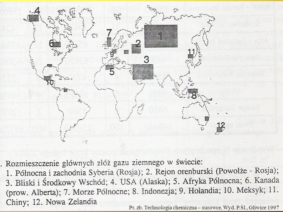Pr. zb. Technologia chemiczna – surowce, Wyd. P.Śl., Gliwice 1997