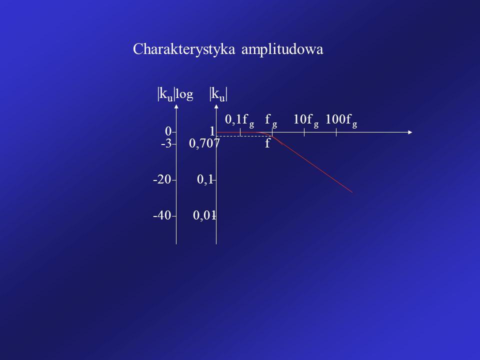 Charakterystyka amplitudowa