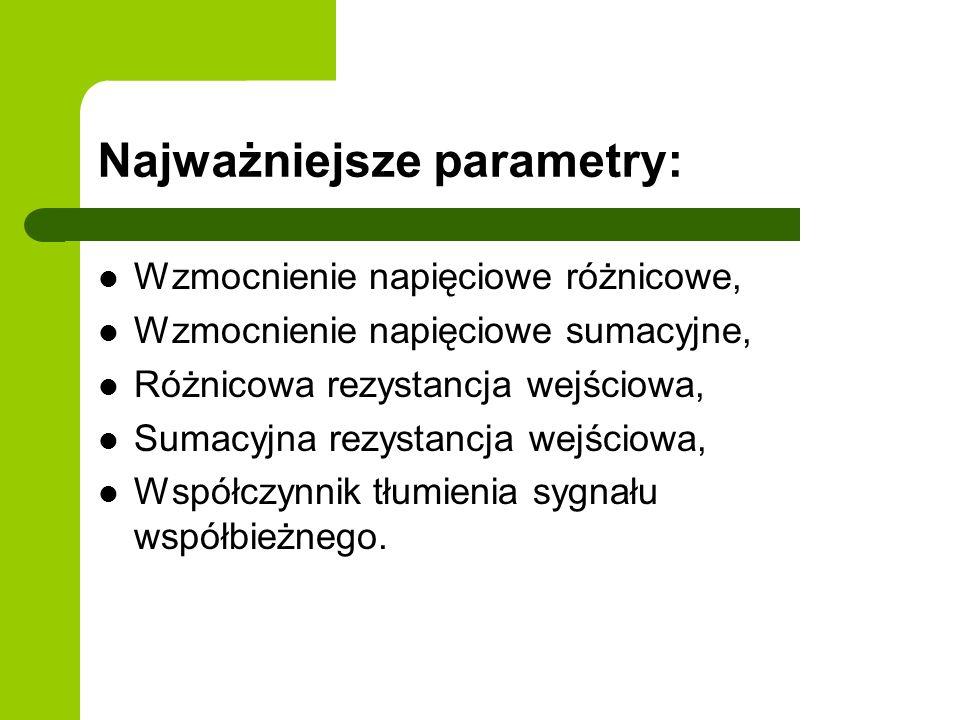Najważniejsze parametry: