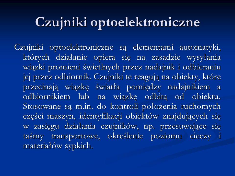 Czujniki optoelektroniczne