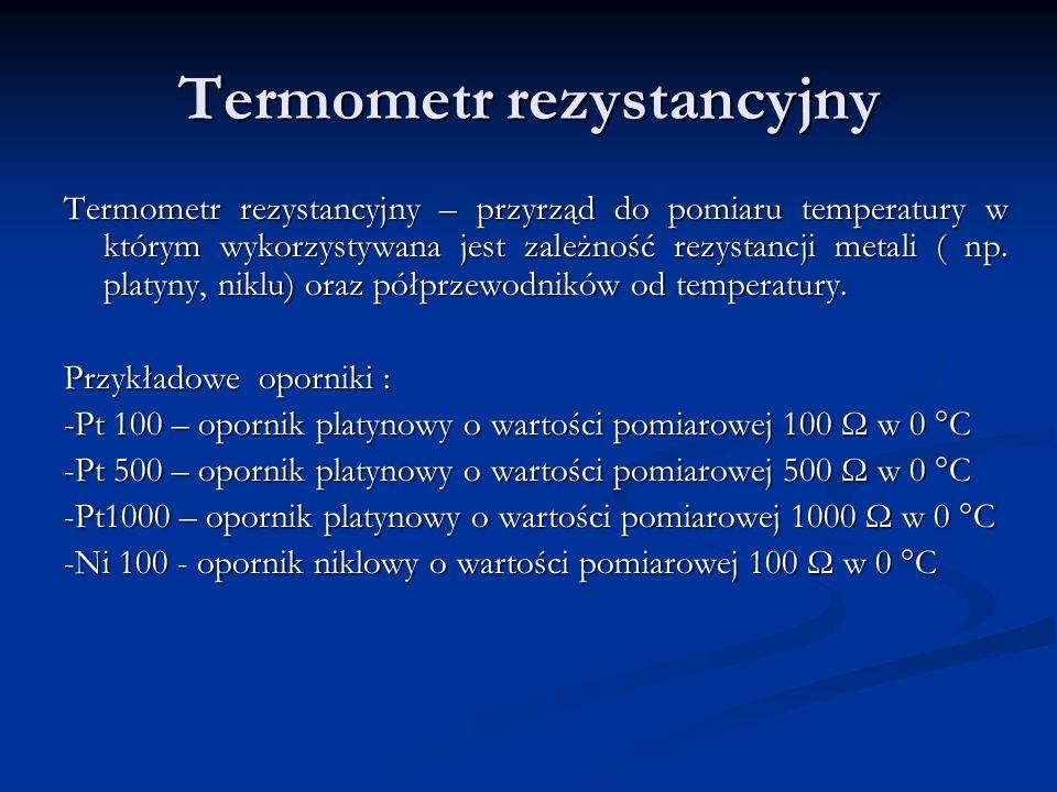 Termometr rezystancyjny