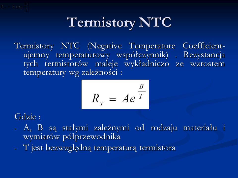 Termistory NTC