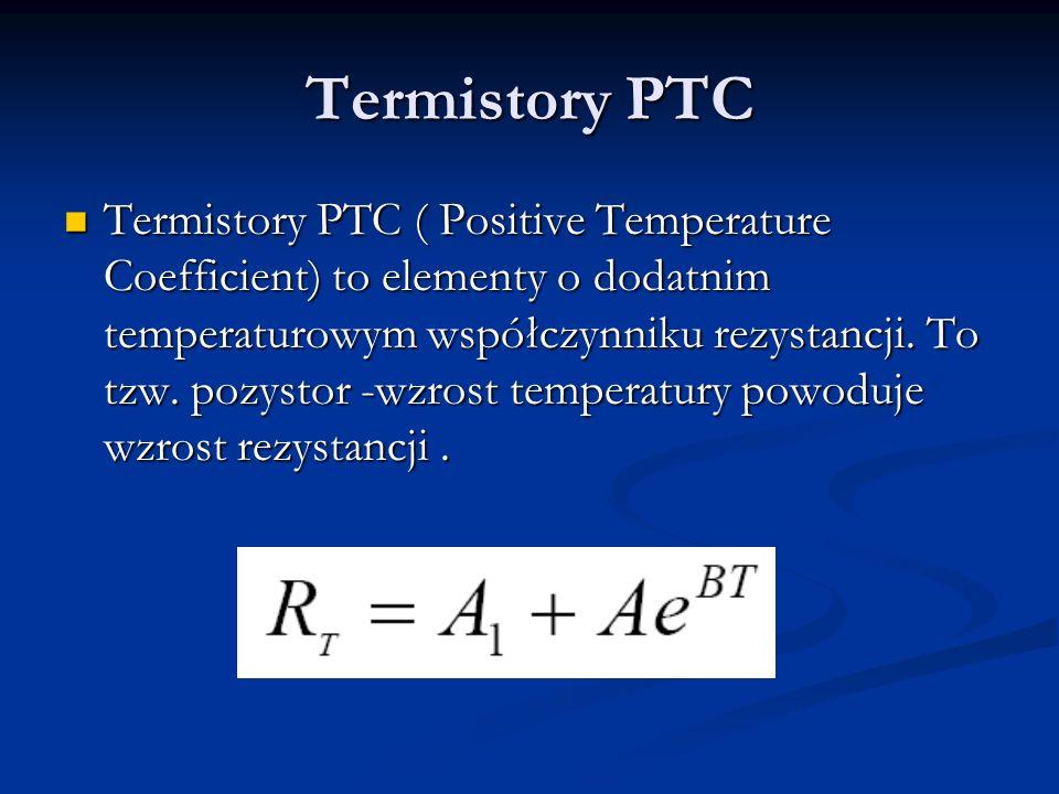 Termistory PTC
