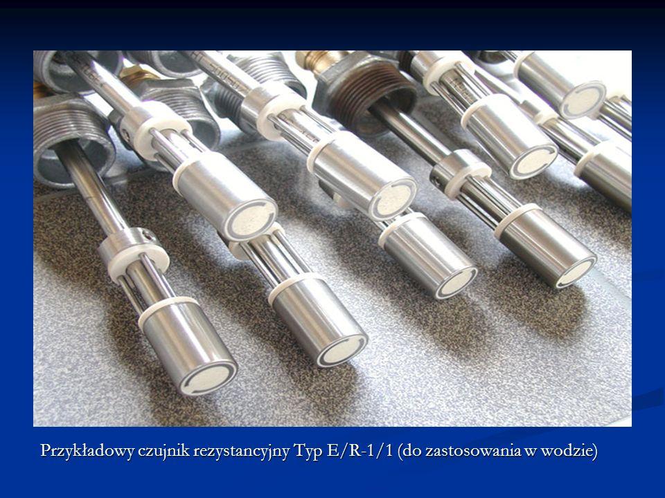 Przykładowy czujnik rezystancyjny Typ E/R-1/1 (do zastosowania w wodzie)
