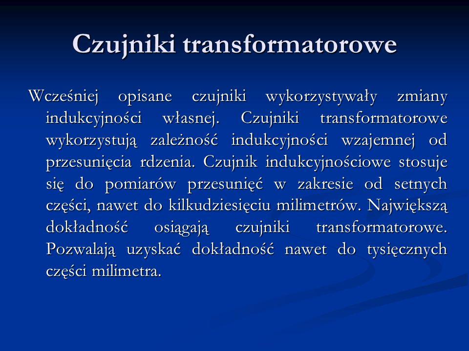 Czujniki transformatorowe