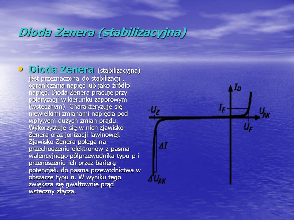 Dioda Zenera (stabilizacyjna)