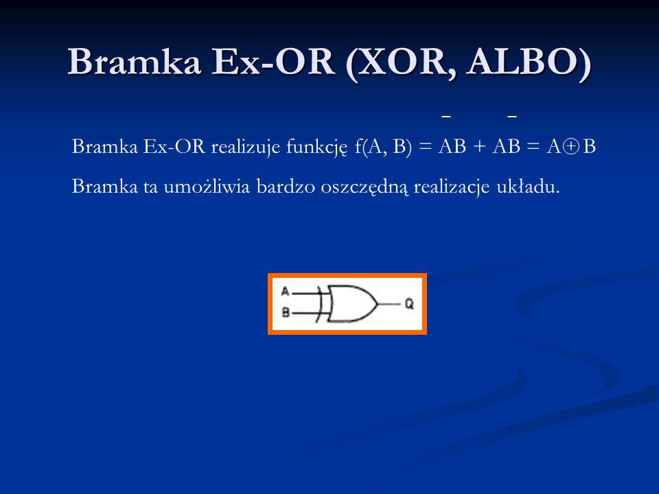 Bramka Ex-OR (XOR, ALBO)