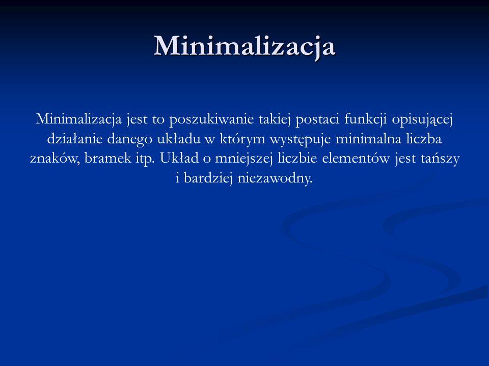 Minimalizacja