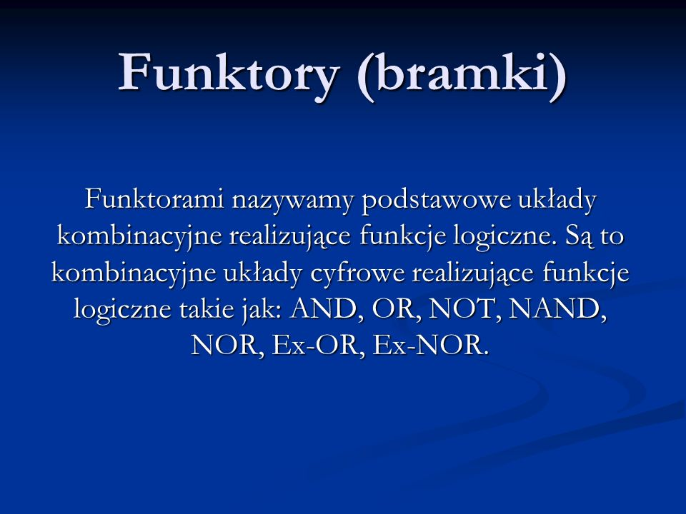 Funktory (bramki)