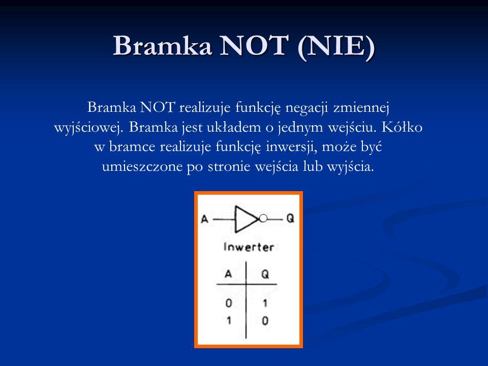 Bramka NOT (NIE)