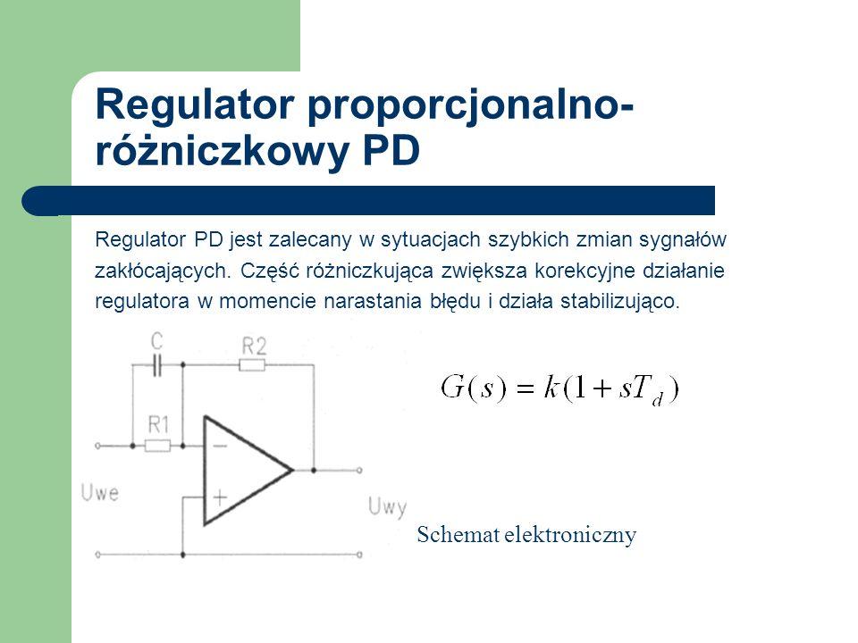 Regulator proporcjonalno-różniczkowy PD