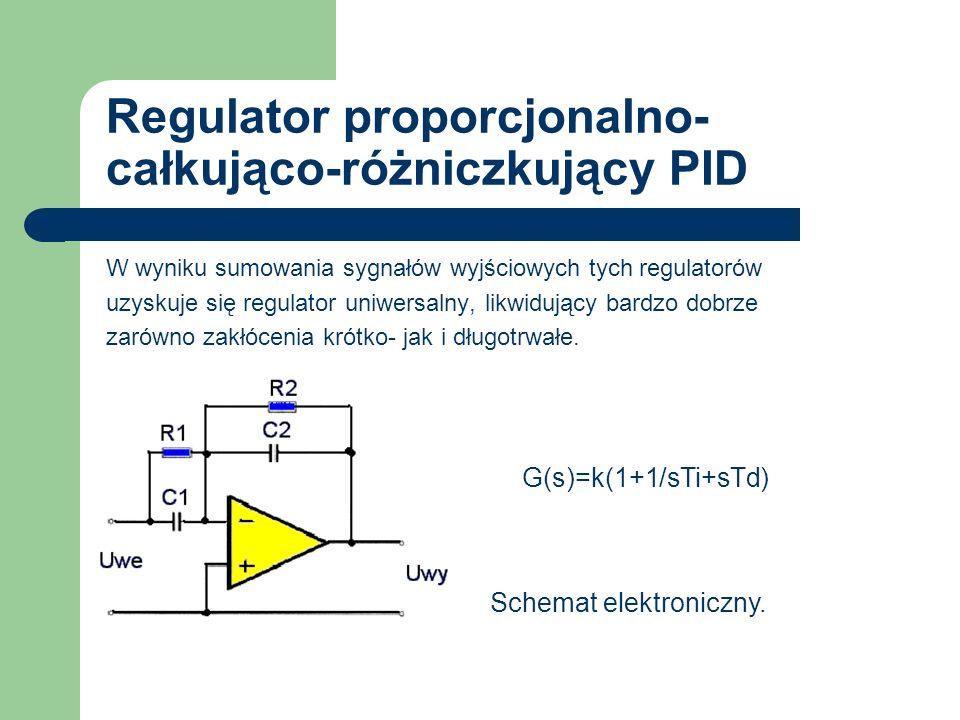 Regulator proporcjonalno-całkująco-różniczkujący PID