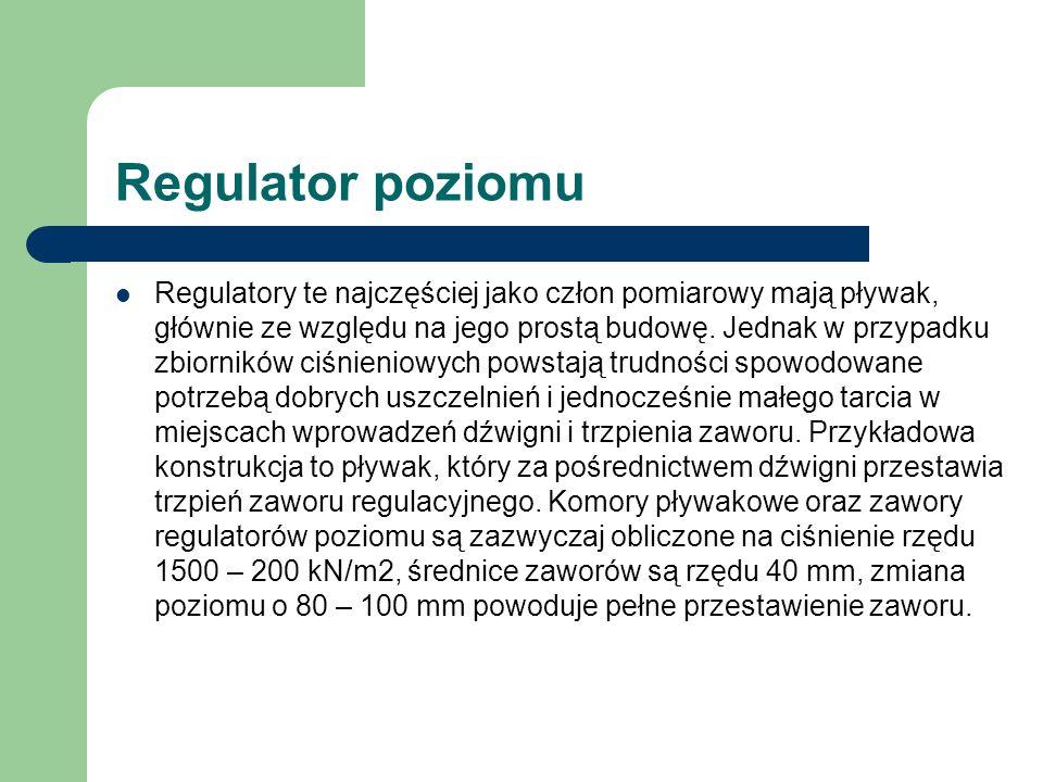 Regulator poziomu