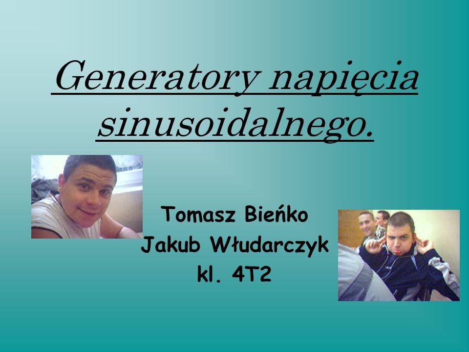 Generatory napięcia sinusoidalnego.