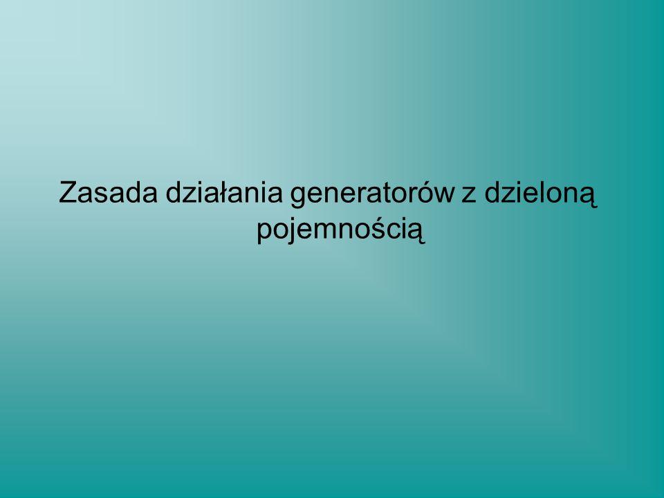 Zasada działania generatorów z dzieloną pojemnością