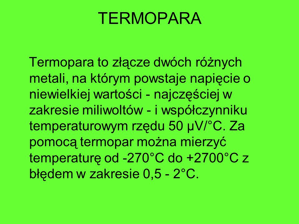 TERMOPARA