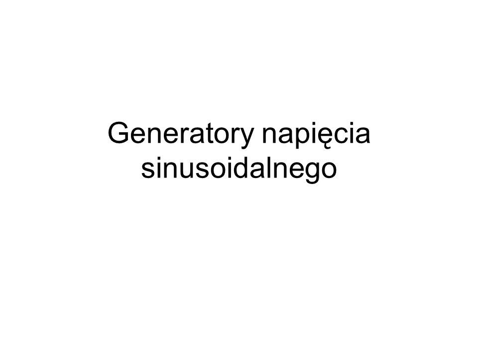 Generatory napięcia sinusoidalnego