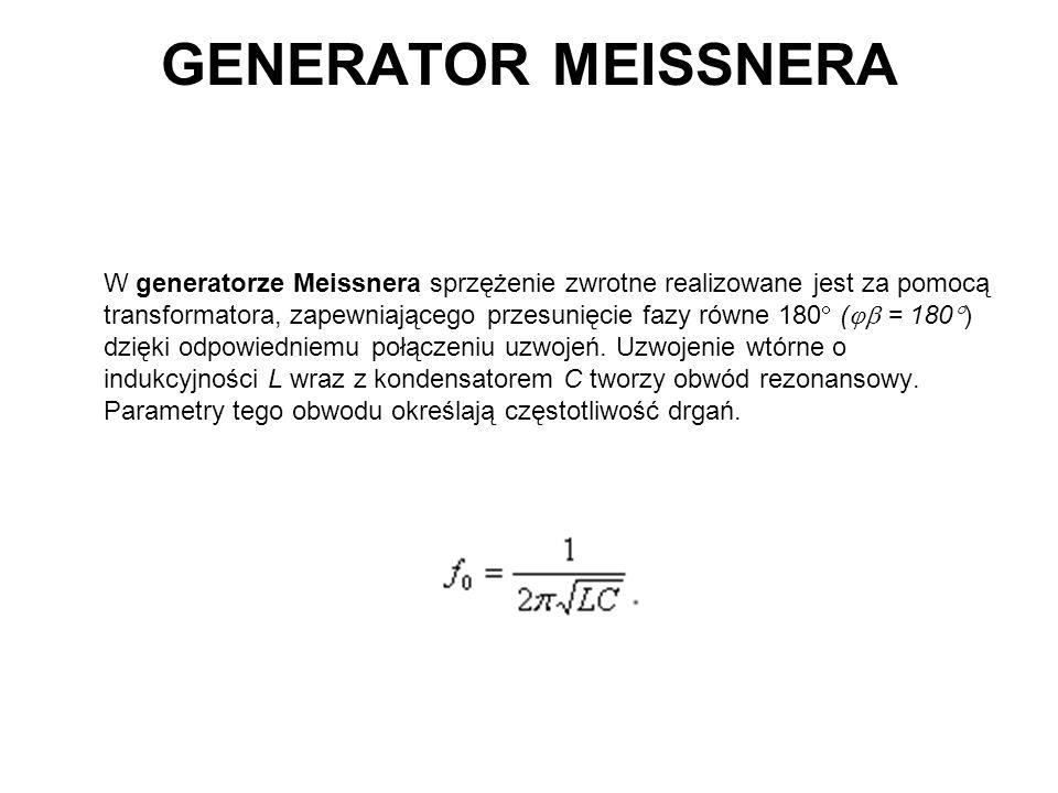 GENERATOR MEISSNERA