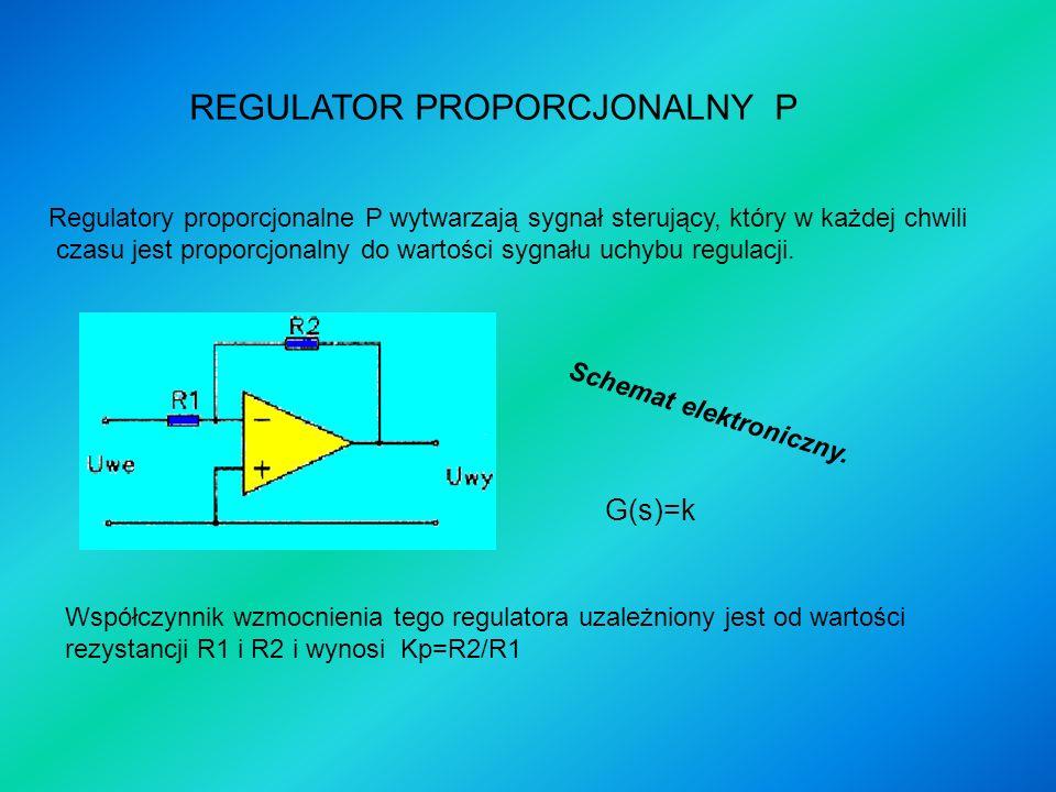 REGULATOR PROPORCJONALNY P