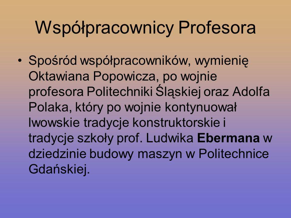 Współpracownicy Profesora
