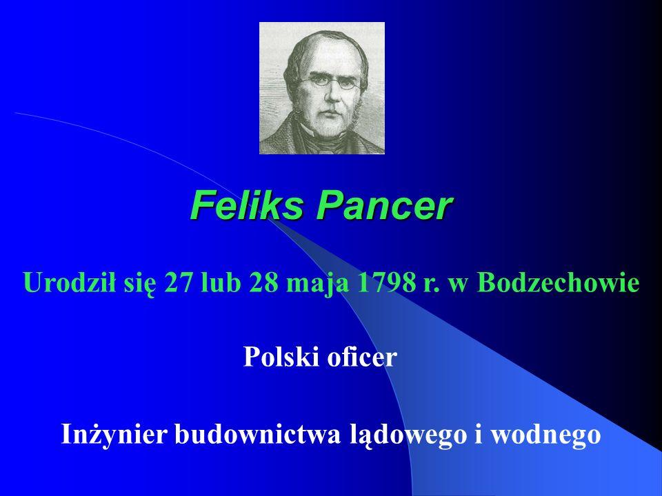 Urodził się 27 lub 28 maja 1798 r. w Bodzechowie
