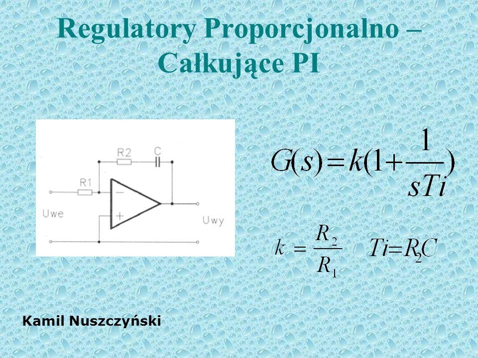 Regulatory Proporcjonalno – Całkujące PI