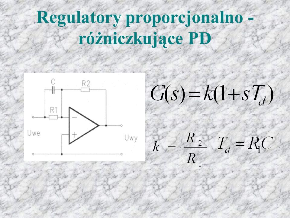 Regulatory proporcjonalno - różniczkujące PD