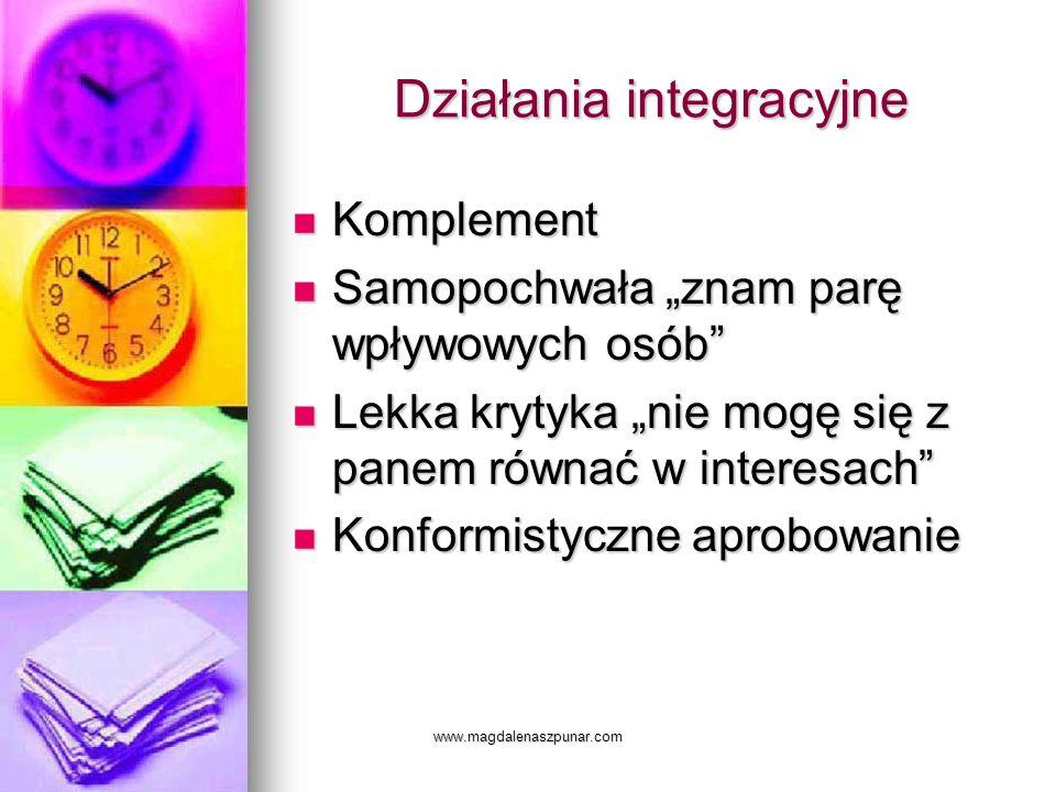 Działania integracyjne