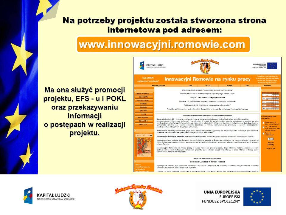 Na potrzeby projektu została stworzona strona internetowa pod adresem: