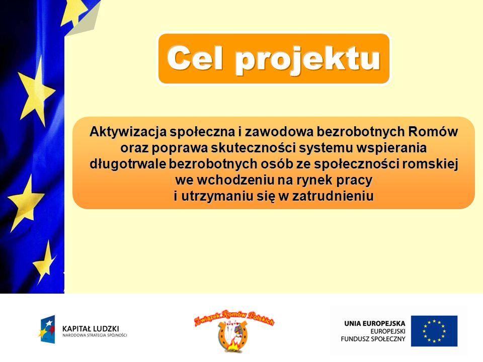 Cel projektu Aktywizacja społeczna i zawodowa bezrobotnych Romów