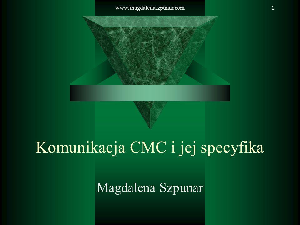 Komunikacja CMC i jej specyfika