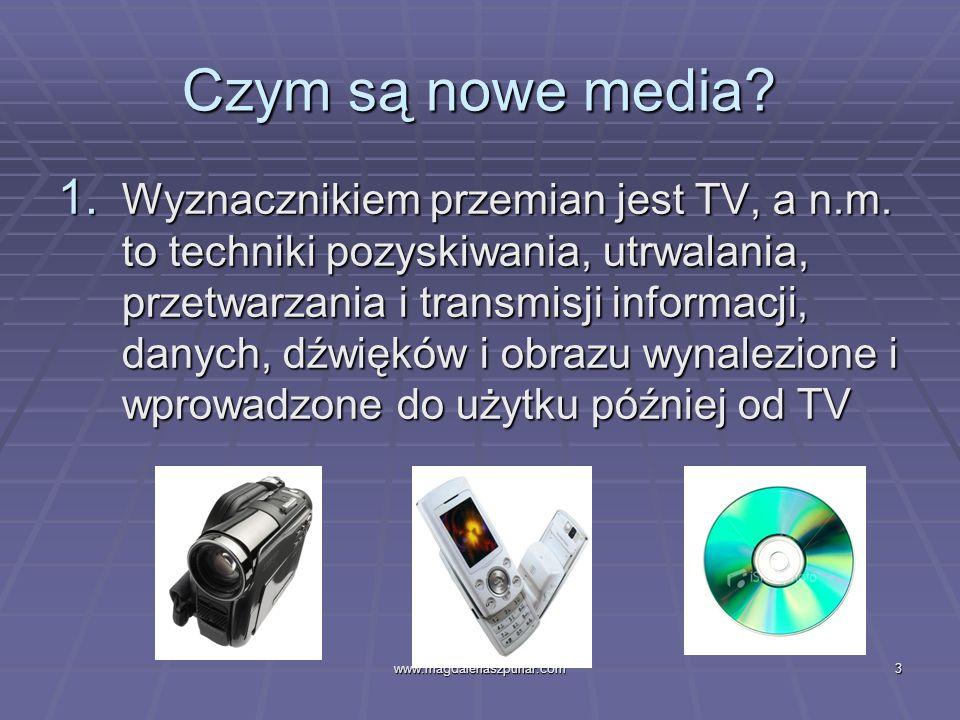 Czym są nowe media