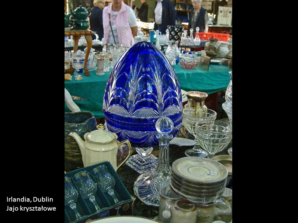Irlandia, Dublin Jajo kryształowe