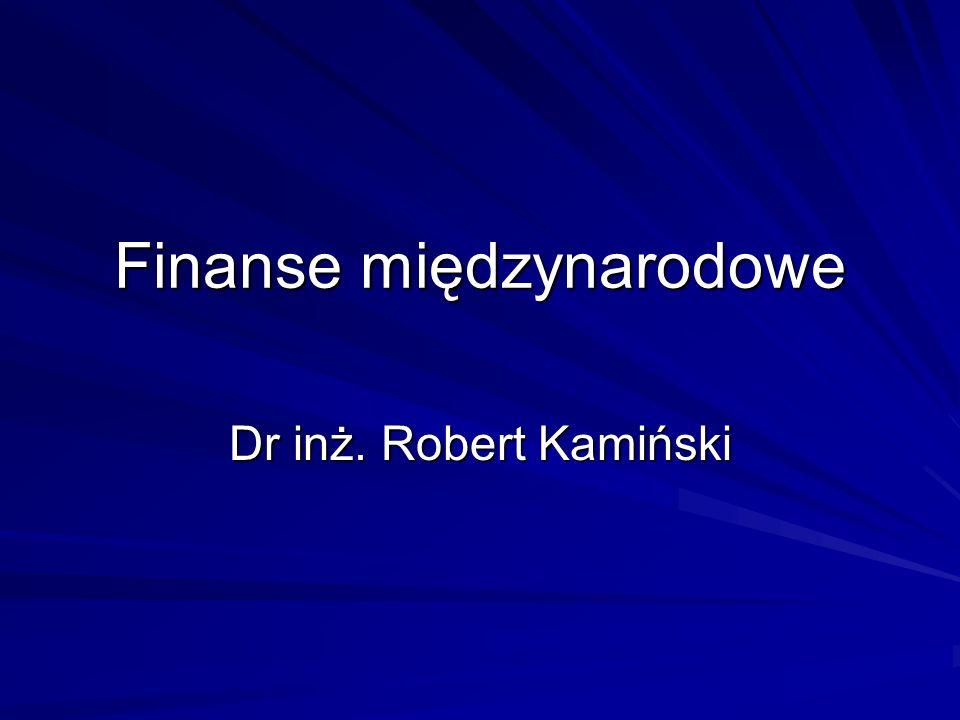 Finanse międzynarodowe