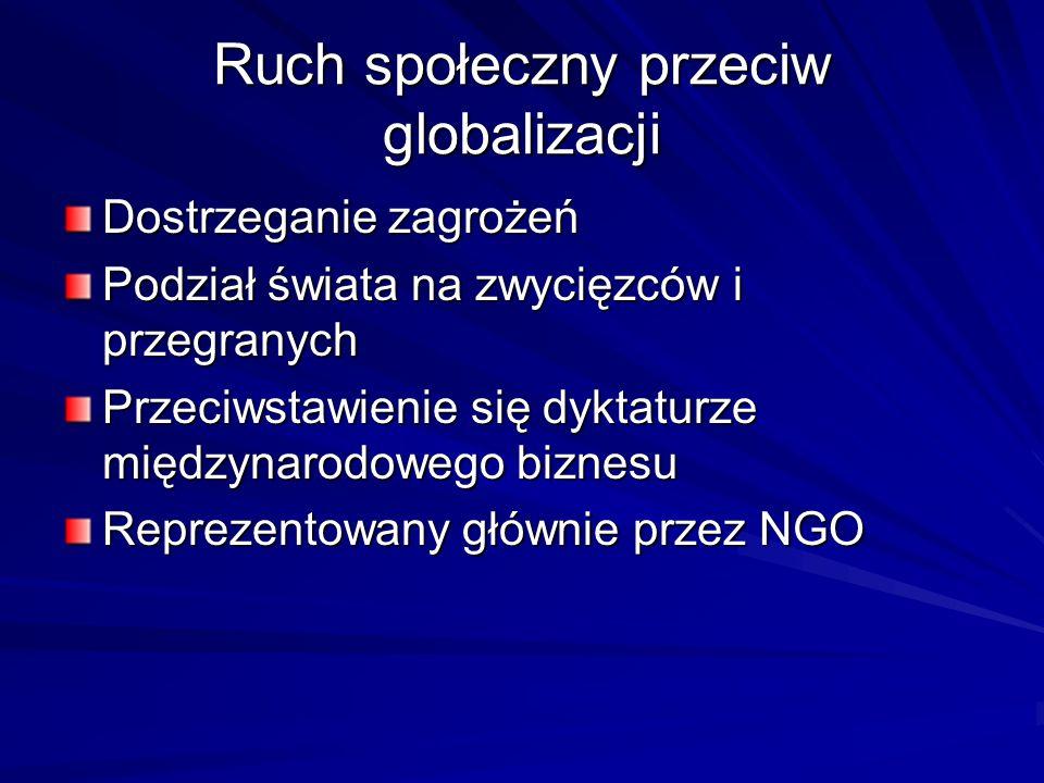 Ruch społeczny przeciw globalizacji