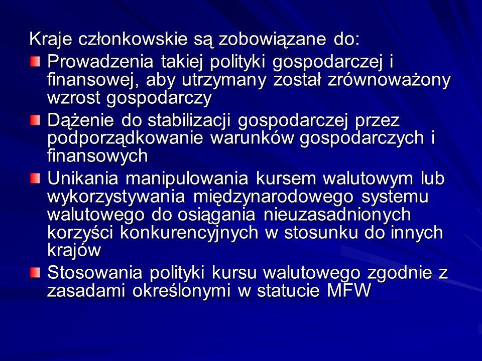 Kraje członkowskie są zobowiązane do: