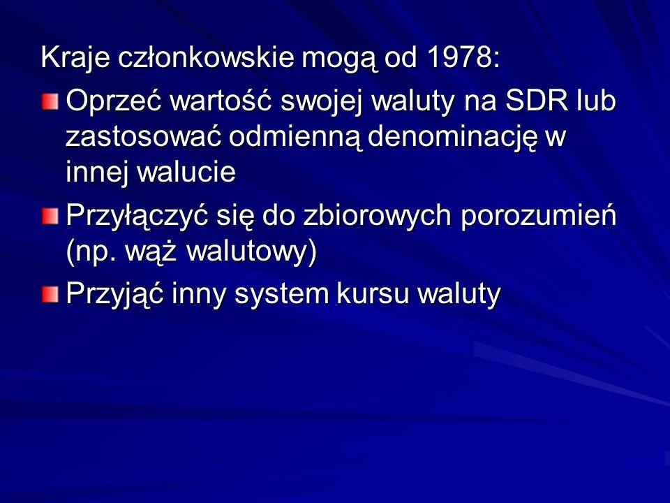 Kraje członkowskie mogą od 1978: