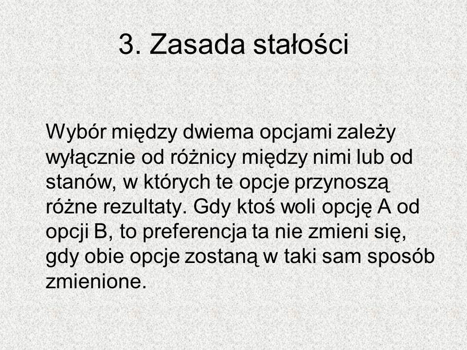 3. Zasada stałości