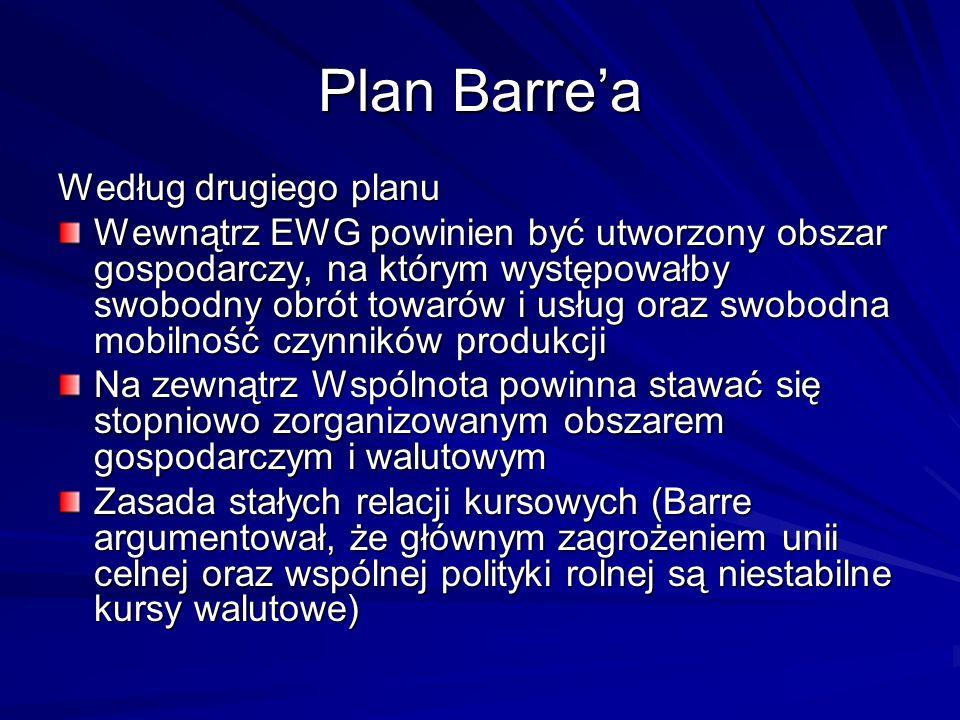 Plan Barre'a Według drugiego planu