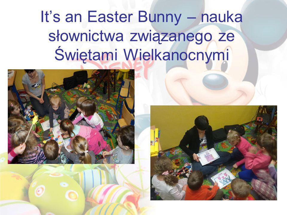 It's an Easter Bunny – nauka słownictwa związanego ze Świętami Wielkanocnymi
