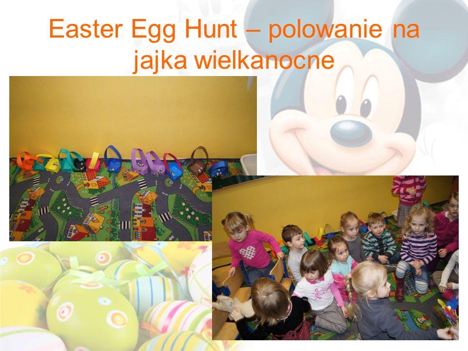 Easter Egg Hunt – polowanie na jajka wielkanocne