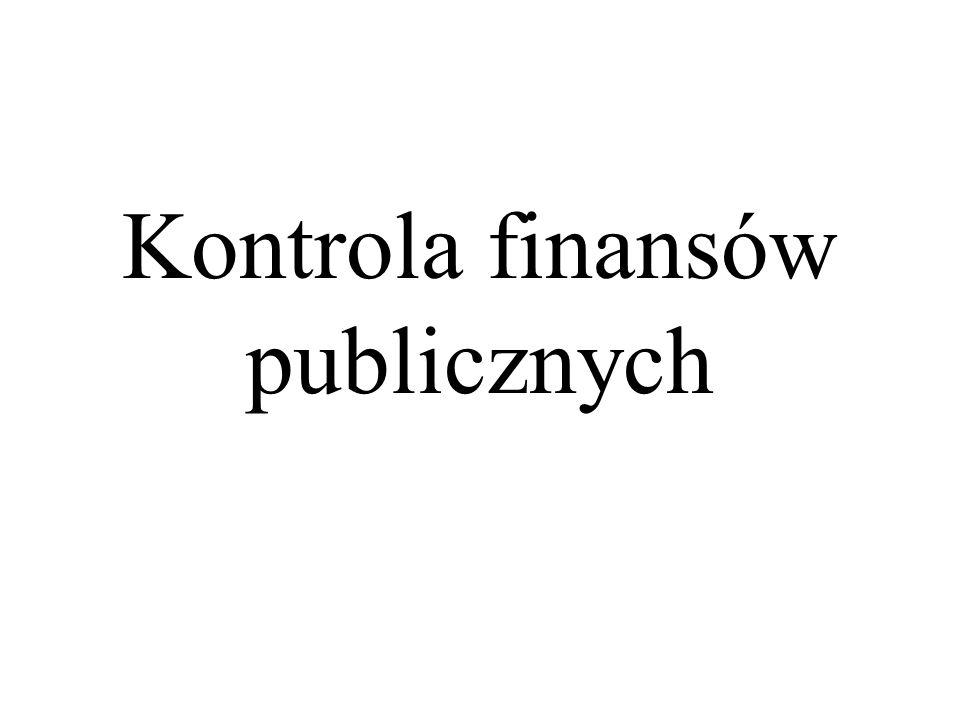 Kontrola finansów publicznych